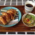 iittala origoで朝食